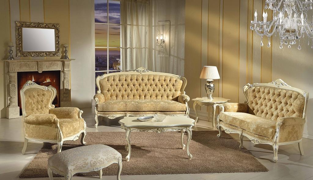 Tavolini sedie veneto produzione sedie divani poltrone - Divani in stile barocco ...