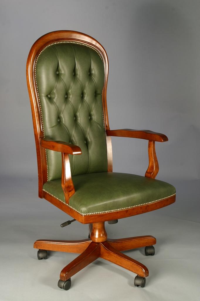 Art 6 poltrona girevole voltaire c messanismo pesante sedie veneto produzione sedie divani - Sedie girevoli da ufficio ...