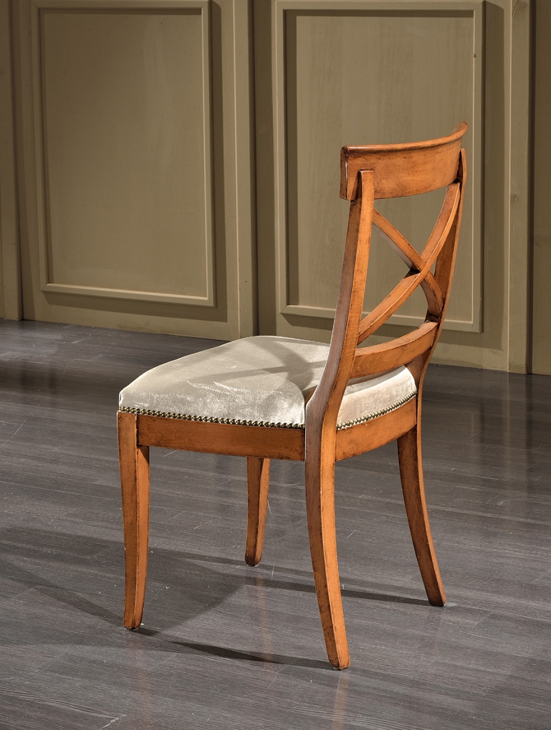 Art 910s sedia cross sedie veneto produzione sedie for Sedia particolare