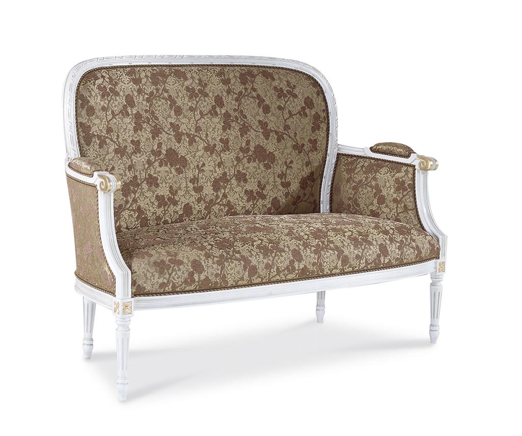 301d divano luigi xvi tondo imperiale intrecciato veneto for Divano tondo