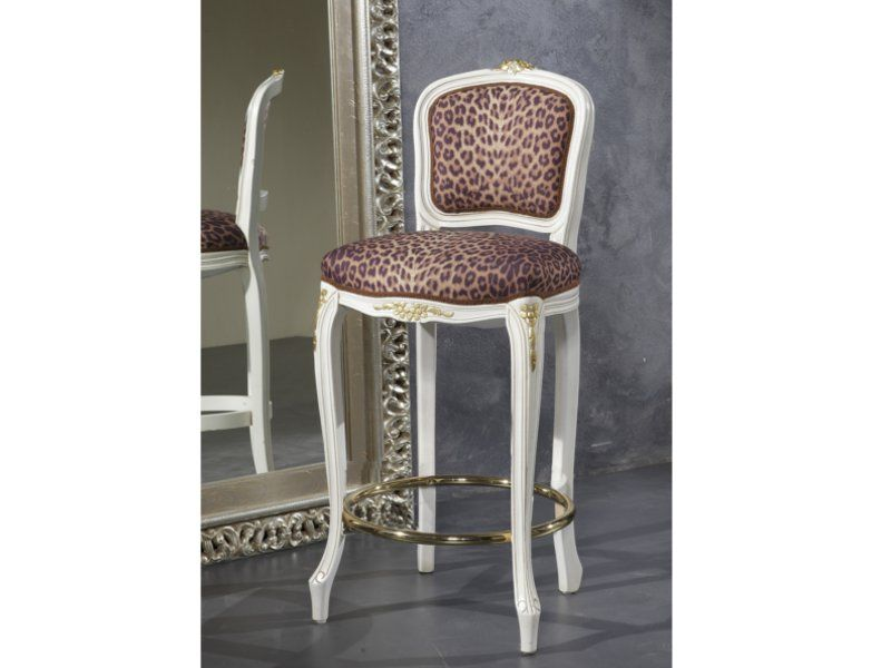 Art sg b a sgabello bar fiorino con anello ottone sedie