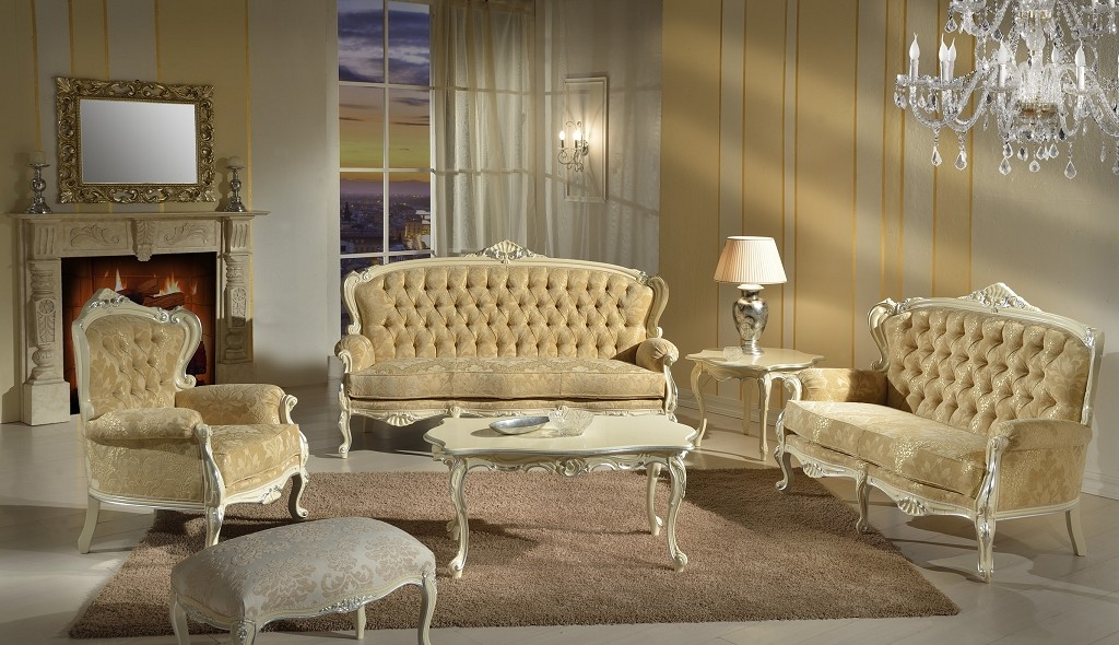 Barocco sedie veneto produzione sedie divani poltrone for Salotti particolari