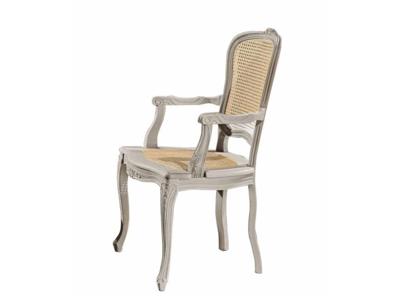 art. 101C/F Capotavola mara con schienale e seduta cannata
