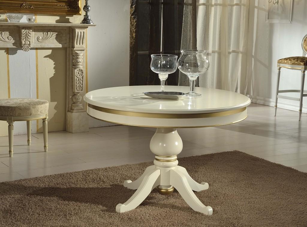 art. 850T tavolo con gambone centrale da 120 fisso