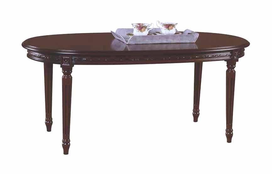 Art. 05T Tavolino Luigi XVI Ovale intrecciato da 120x60 (altezza cm. 51)