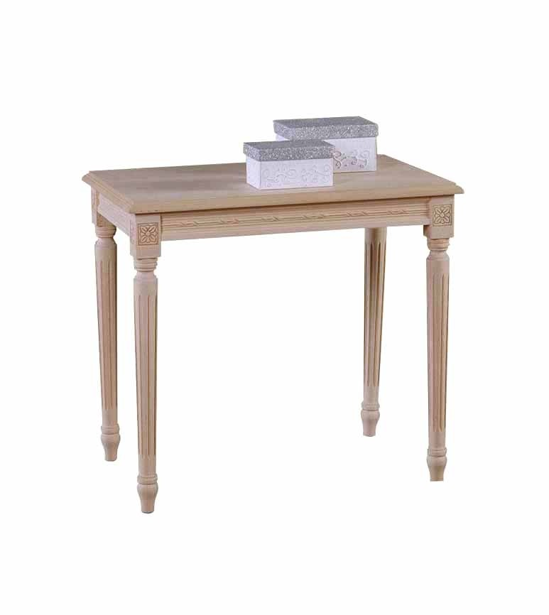 Art. 08T Tavolino Luigi XVI Rettangolare Intrecciato da 60x40 (altezza cm. 55)