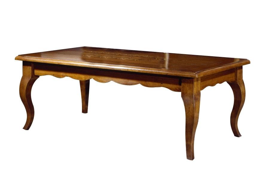 Art. 420TAV Tavolino Intarsio mis.130x70 (altezza cm. 50)