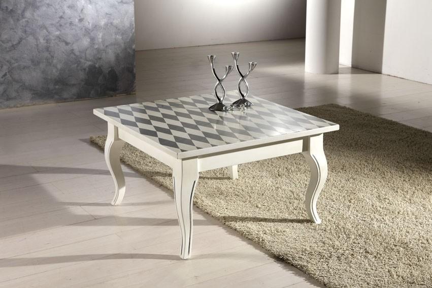 Art. 1310TAV Tavolino Deco' a sciabola mis. da 80x80
