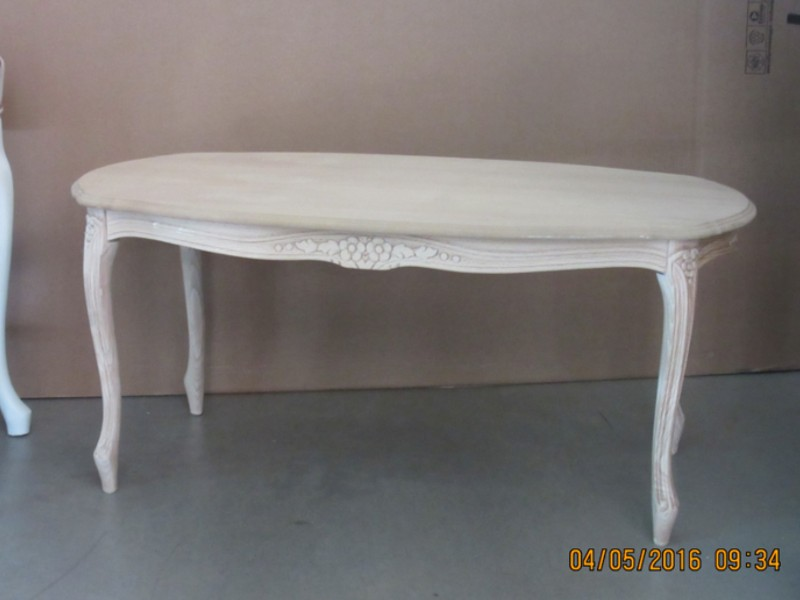 Art. 705T Tavolino Luigi XV Ovale 105X58 (altezza cm. 50)
