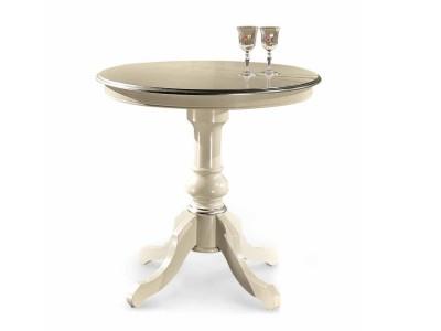 Copia - art. 860TAV Tavolino tondo d.80 con gambone centrale