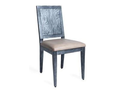 Sedia Vittorina con pannello legno