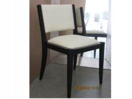 Upholstered modern chair
